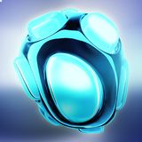 Crystal abstract. Jewelry concept. 3D Royalty Free Stock Photos