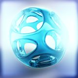 Crystal abstract. Jewelry concept. 3D rendering Royalty Free Stock Image