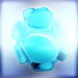 Crystal Abstract Schmuck-Konzept Lizenzfreies Stockfoto