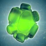 Crystal Abstract Schmuck-Konzept Lizenzfreies Stockbild