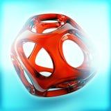 Crystal Abstract Schmuck-Konzept Lizenzfreie Stockbilder