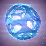 Crystal Abstract Smyckenbegrepp Royaltyfri Bild