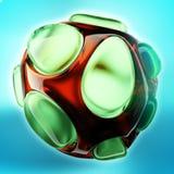 Crystal Abstract Smyckenbegrepp Fotografering för Bildbyråer