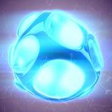 Crystal Abstract Smyckenbegrepp Arkivbilder