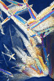 crystal abstrakcjonistyczni lodu obrazy Fotografia Royalty Free