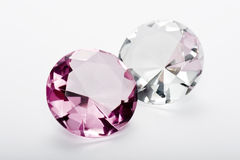 Crystal accessories Royalty Free Stock Photo