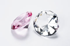Crystal accessories Stock Photography