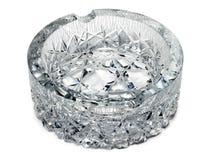 Crystal ashtray Stock Photo