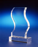 Crystal Award Plaque Royalty Free Stock Image