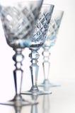 crystal bägare Fotografering för Bildbyråer