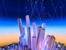 Crystal Background Photo libre de droits