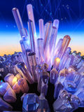 Crystal Background Photos stock