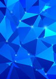 Crystal background - abstraction Stock Photos