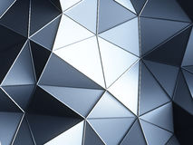 Crystal backgrounds. 3d  abstract blue crystas backgrounds Royalty Free Stock Photo