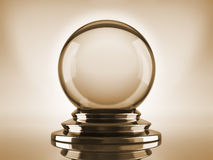 Crystal ball royalty free stock photos