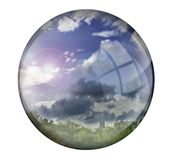 Crystal Ball Fotos de Stock Royalty Free