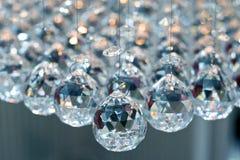 Crystal ball. Bunch of diamond style luxury crystal balls royalty free stock photography