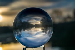 Crystal ball Royalty Free Stock Images