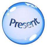 Crystal Ball Present Stock Photos