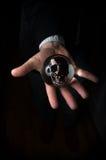 Crystal Ball Skull Stock Photos