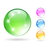 Crystal ball Stock Images