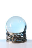 Crystal ball in stand stock photos