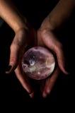 Crystal Ball Starscape Immagini Stock