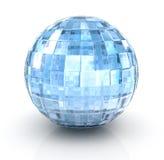 С¡rystal ball on white background Royalty Free Stock Image