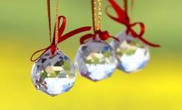 Crystal Balls Fotografia de Stock