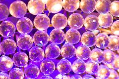 Crystal balls Stock Images