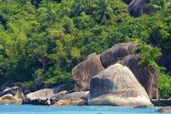 Crystal Bay in Koh Samui, Thailand stock photography