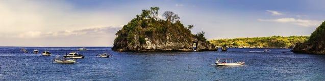 Crystal Bay Nusa Penida images libres de droits