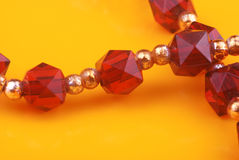 Crystal beads Stock Images