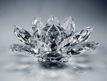 crystal blomma Royaltyfri Bild