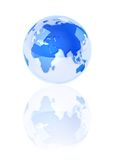 Crystal Blue Earth Stock Photography