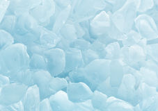 Crystal blue ice background Stock Photography