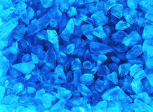Crystal blue ice background Royalty Free Stock Image