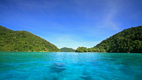 Crystal blue sea at Koh Surin in Phang Nga Stock Photography
