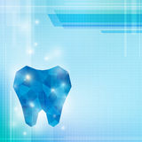Crystal blue tooth Royalty Free Stock Photography
