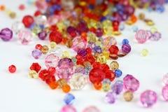 crystal bollar Royaltyfri Fotografi