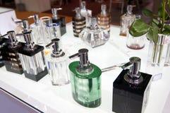 Crystal bottle Stock Photos