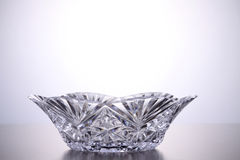 Crystal bowl Royalty Free Stock Photography