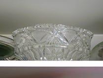 Crystal bowl Stock Image