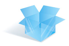 Crystal box Royalty Free Stock Images