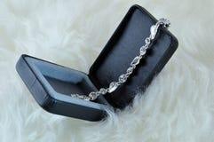 Crystal bracelet Stock Photography
