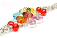 Crystal bracelet Stock Images