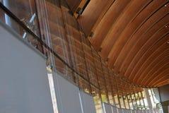 Crystal Bridges Museum av amerikanen Art Detail Arkivbild