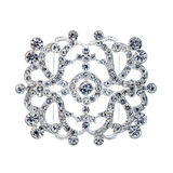 Crystal brooch Royalty Free Stock Image
