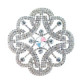 Crystal brooch Royalty Free Stock Images