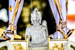 Crystal Buddha Royaltyfria Bilder